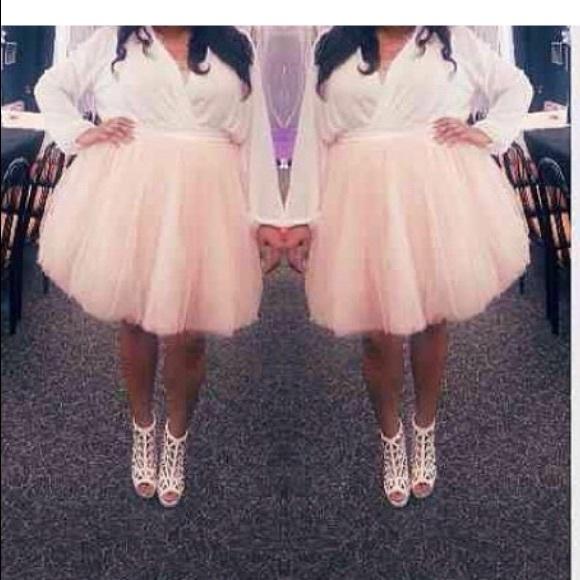 Plus Size tulle tutu ballerina skirt! Boutique